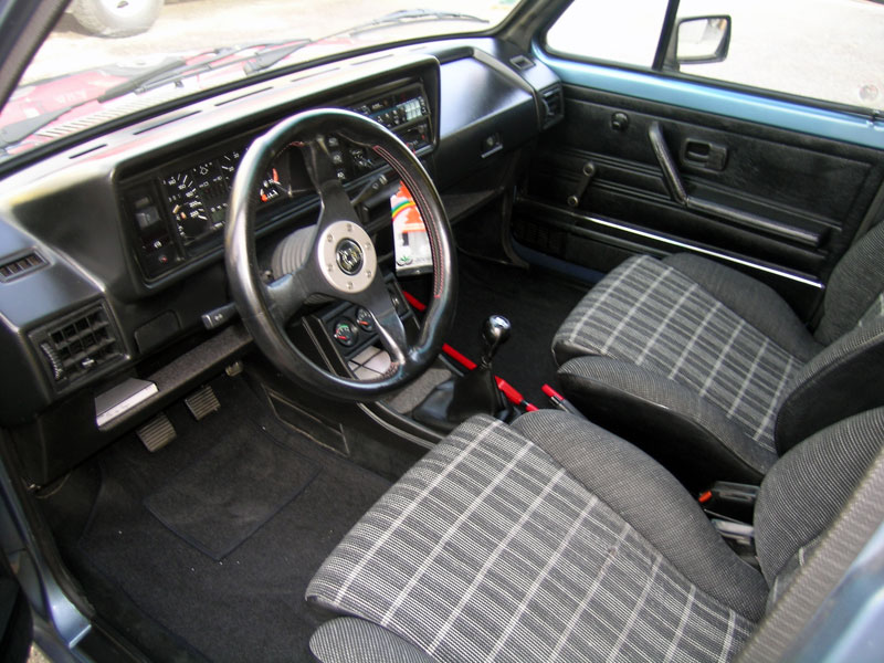 Vw jetta tx 1800 injection 1984 for Golf 6 gti interieur